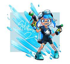 Splatoon 2 fan art #splatoon #NintendoSwitch #fanart