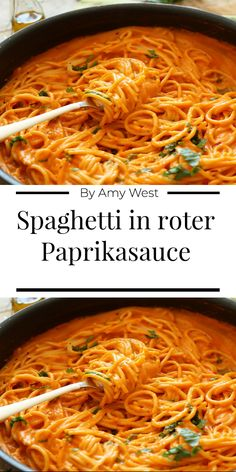 Paprika Sauce, New Recipes, Cooking Recipes, Vegetarian Recipes, Healthy Recipes, Pasta, Soul Food, Food Inspiration, Linguine