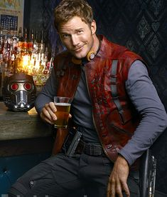 Chris Pratt Looks Cool As 'Star-Lord' In EW Portraits For GUARDIANS OF THE GALAXY
