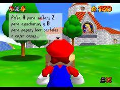 nitendo 64 mario | Super Mario 64 (Nintendo 64)