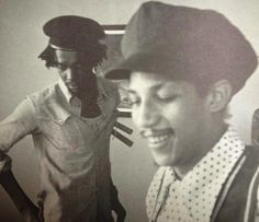 Very rare photo from 1975 of PETER TOSH and AUGUSTUS PABLO...