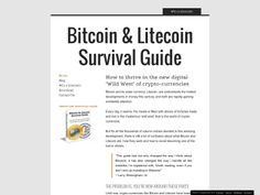 ① Bitcoin & Litecoin Survival Guide - http://www.vnulab.be/lab-review/%e2%91%a0-bitcoin-litecoin-survival-guide