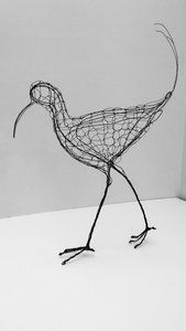 Image of Curlew Wire Sculpture