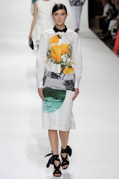 A look from the Dries Van Noten Spring 2012 RTW collection.