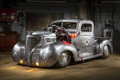 Combining a 1950s seaplane Cessna and a 1939 Plymouth pickup results in a one-of-a-kind hot rod.