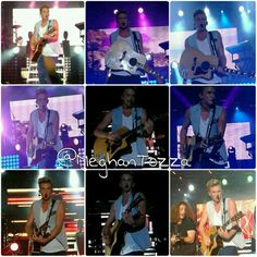 #ParadiseTour photo collage of Cody Simpson at Best Buy Theater, NYC. July 18, 2013. @♔ Meghan