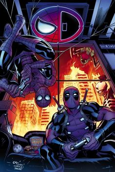 Spider-Man/Deadpool #10 by Ed McGuinness *