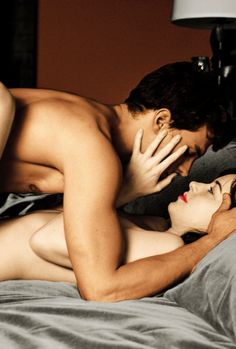 "Jamie Dornan and Dakota Johnson Fifty shades of grey movie """"Maybe the scene…"