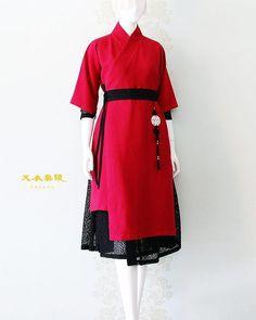 Korean Fashion Trends, Asian Fashion, Girl Fashion, Fashion Dresses, Fashion Design, Korean Traditional Dress, Traditional Dresses, Japanese Outfits, Korean Outfits