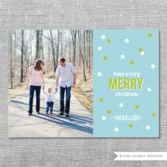 Photo Holiday Card | Printable | Have a Very Merry Christmas