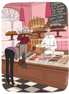 patisserie, Magalie
