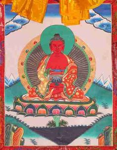 This is the sacred mantra of Buddha Amitabha, which protects you from dangers and obstacles, and overcomes all hindrances to your success.