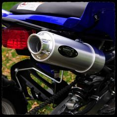 Yamaha Raptor 350 ATV Full Single Inframe Exhaust System
