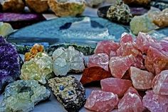Picture of Mineral crystals and stones, with energy effect, in different structures stock photo, images and stock photography. Healthy Lifestyle Blogs, Minerals, Stock Photos, Crystals, Stones, Rock Art, Free Photos, Explore, Facebook