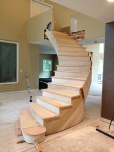 New Circular Stairway