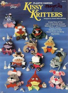 Plastic Canvas Kissy Kritters FC 1/15