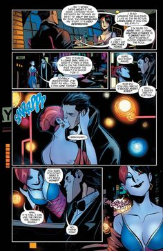 Harley Quinn Goes On A Date With Bruce Wayne