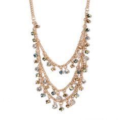 I love the all the rage Chain Drape Necklace from LittleBlackBag chain drape, rage chain, drape necklac