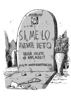 Telavevodetto by #Zerocalcare