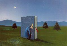 Se detecta un buen lector por su curiosidad insaciable (ilustración de Soizick Meister)