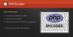 PHP Encoder позволяет легко кодировать любой PHP файлHP Encoder