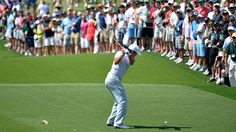 Jason Day on No. 3 at Augusta National