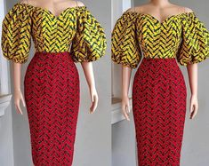 African dresses for women/African women two piece/African women shirt and paint/African traditional wear/African shop Ghana Dresses, African Party Dresses, African Wedding Dress, Latest African Fashion Dresses, African Print Fashion, Prom Party Dresses, African Dress, African Outfits, Ankara Clothing