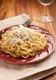 Pasta with Browned Butter and Mizithra (Must Try 15 Minute Meal!) Spaghetti Factory copycat.