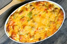 Everything Breakfast Casserole
