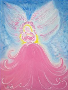 Dancing Angel Art - Noel Cornelia Fine Artist - angel paintings, prints and other artwork