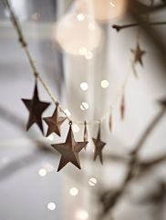 NEW Rusty Star Garland -Cox and Cox  Pretty Christmas Decoration
