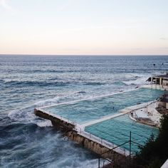 Bondi beach in Sydney / photo by Simple & Elegant