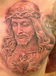 Jesus Tattoos For Men tattooideaslive.com #jesus #religious #tattoos