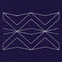 sashiko patterns free download | Sashiko Borders 04 - Small