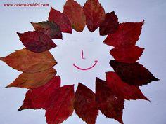 Activitati practice cu frunze de toamna - CAIETUL CU IDEI Class Tree, Flag, School, Kids, Art, Young Children, Art Background, Boys, Kunst