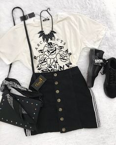 New fashion summer outfits ideas 63 Ideas Cute and chic teens fashion outfits ideas Hipster Outfits, Summer Fashion Outfits, Mode Outfits, Grunge Outfits, Teen Fashion, Trendy Outfits, Korean Fashion, Fall Outfits, Style Fashion
