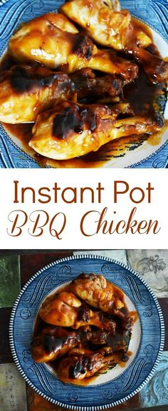 I'm in love with my Instant Pot and keep looking for new recipes my family will enjoy. These Instant Pot BBQ Chicken drumsticks were a big hit! #instantpot #pressurecooker