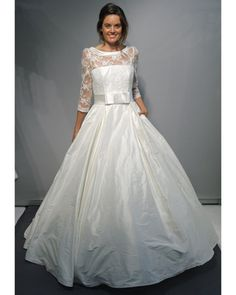 Make the top tighter, put huge bow in the front and make the skirt tulle