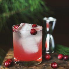 Cranberry Pine Mocktail.