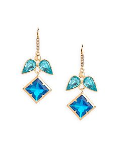 Blue Angel Earrings@Terry Jewell could maybe make these for me?