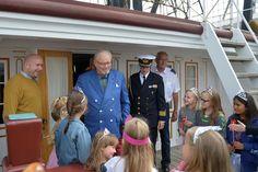 Prinsesser ombord på Fregatten 080716 0053
