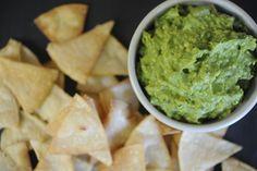 Recipe: guacamole and chips