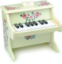 Kinder Klavier mit Blumen, Holz, Nathalie Lété für Vilac