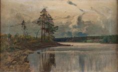 Le Prince Lointain: Alfred Thörne (1850-1916), Paysage.