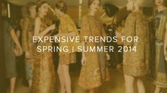 EXPENSIVE TRENDS for SPRING | SUMMER 2014 | Club Delux | Vip Luxury Club http://www.clubdelux.pt/expensive-trends-for-spring-summer-2014/#.U1Zsrc2Attx