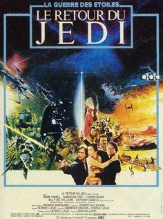 Affiche du film Star Wars épisode VI : le retour du Jedi