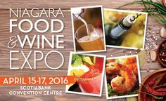Win Tickets to the Niagara Food and Wine Expo in Niagara Falls, Ontario! CAN