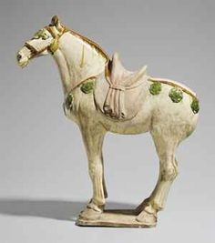 A SANCAI-GLAZED POTTERY FIGURE OF A HORSE | TANG DYNASTY (618-907 ... christies.com A SANCAI-GLAZED POTTERY FIGURE OF A HORSE. Enlarge & Zoom