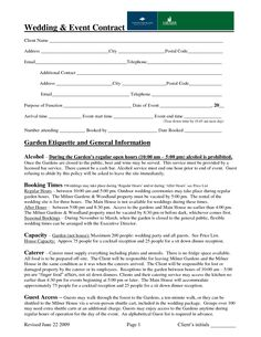 Event Rental Agreement Template  Facilities Rental Agreement