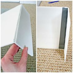 How to Make a Foam Board Cornice tutorial by Megan of the blog Rappsody in Rooms. rappsodyinrooms.com/2014/03/17/make-foam-board-cornice/